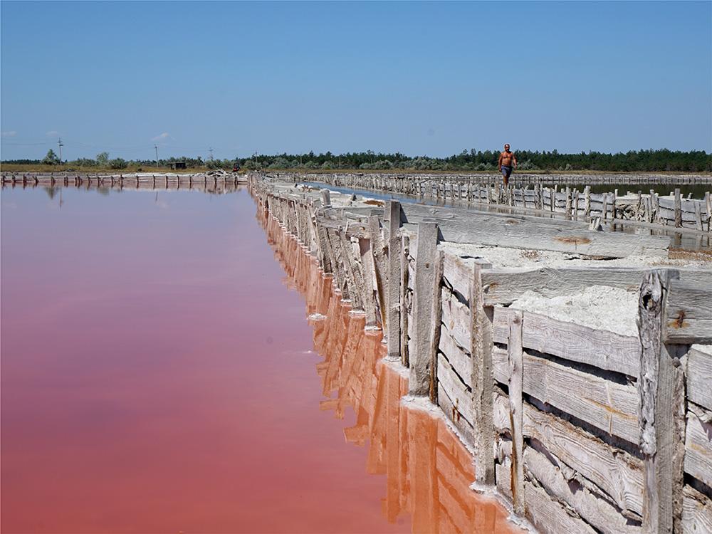 5 розовых озер в Украине, которые стоит посетить каждому