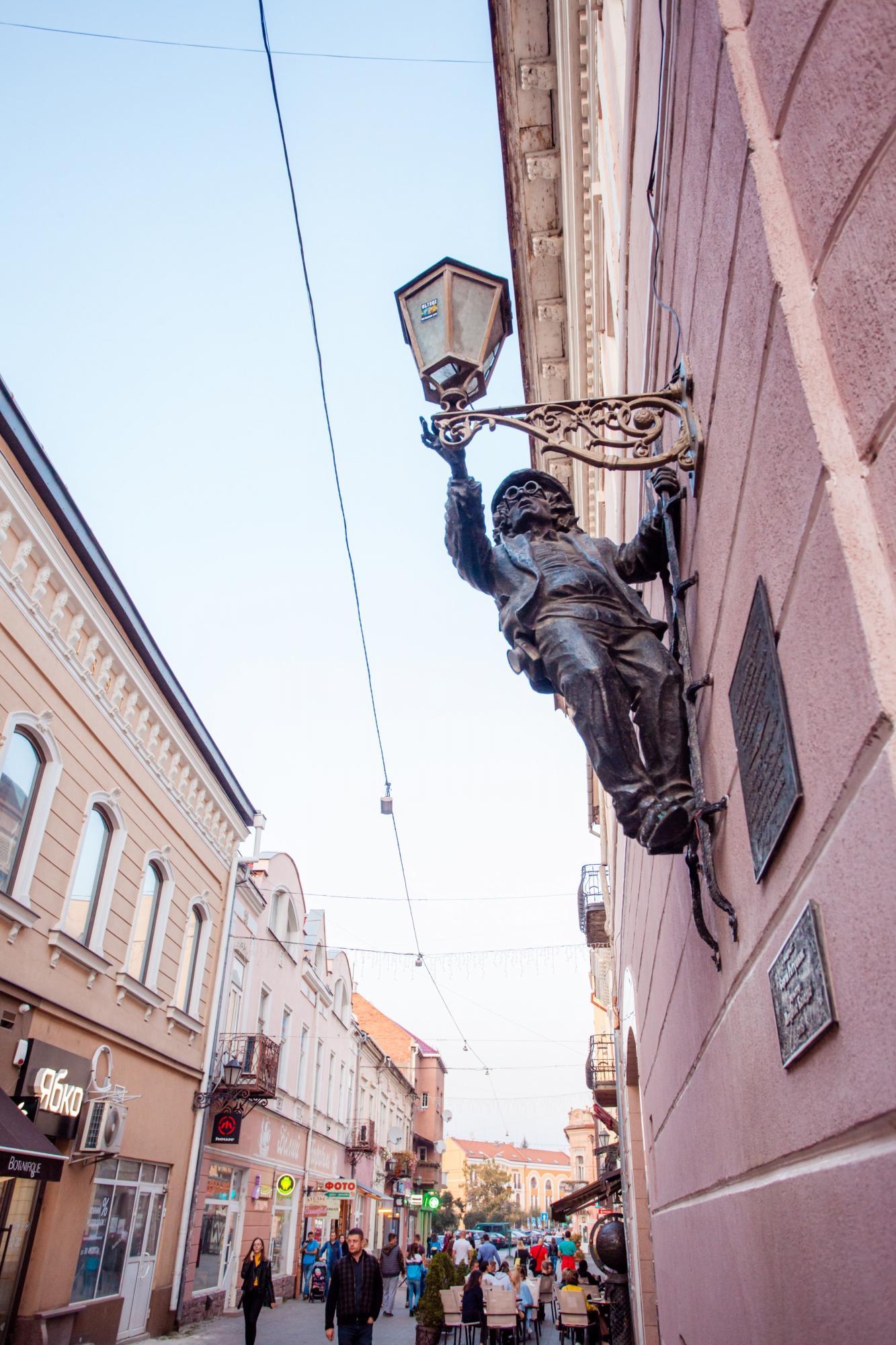 Ужгород в деталях. Путівник найцікавішими пам'ятками, готелями та ресторанами міста
